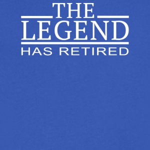 The Legend Has Retired - Men's V-Neck T-Shirt by Canvas