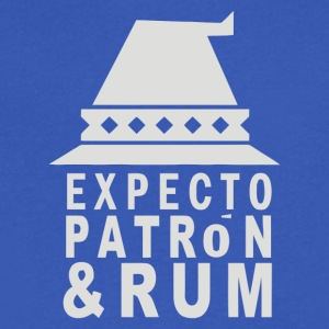 Expecto Patron Rum - Men's V-Neck T-Shirt by Canvas