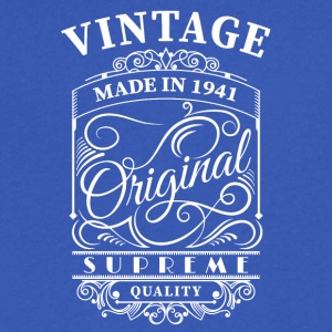 Vintage made in 1941 - Men's V-Neck T-Shirt by Canvas