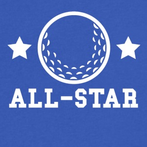 Golf All Star - Men's V-Neck T-Shirt by Canvas