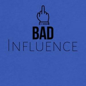Bad influence - Men's V-Neck T-Shirt by Canvas
