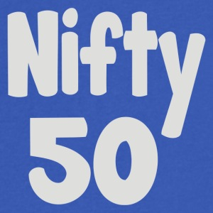 Nifty 50 - Men's V-Neck T-Shirt by Canvas