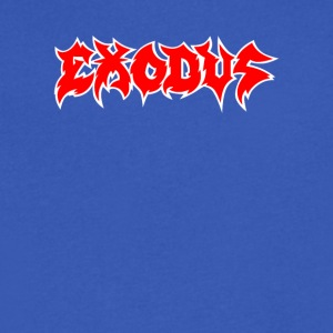 Exodus - Men's V-Neck T-Shirt by Canvas