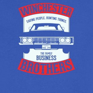 Winchester brothers - Men's V-Neck T-Shirt by Canvas