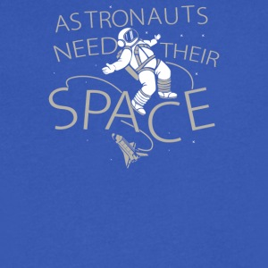 Astronauts Need Their Space - Men's V-Neck T-Shirt by Canvas