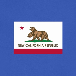 NEW CALIFORNIA REPUBLIC - Men's V-Neck T-Shirt by Canvas