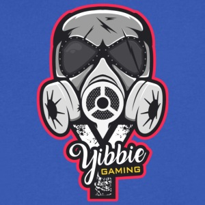 Yibbie's Official Logo - Men's V-Neck T-Shirt by Canvas