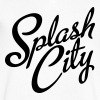Splash City Hoops CA Basketball - Men's V-Neck T-Shirt by Canvas