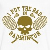 I put the bad in Badminton - Men's V-Neck T-Shirt by Canvas