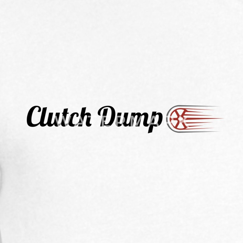 Clutch Dump - Men's V-Neck T-Shirt by Canvas