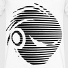 deejay logo - Men's V-Neck T-Shirt by Canvas