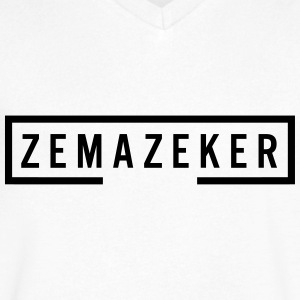 Zemazeker - Men's V-Neck T-Shirt by Canvas