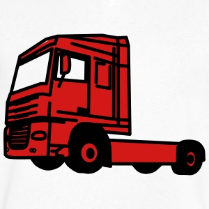 Truck - Men's V-Neck T-Shirt by Canvas