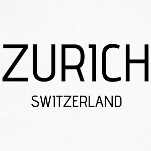 Zurich - Men's V-Neck T-Shirt by Canvas
