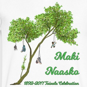 Maki Naasko Toivola Celebration 2017 - Men's V-Neck T-Shirt by Canvas