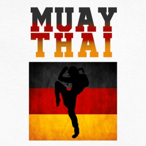 Muay_Thai_Germany - Men's V-Neck T-Shirt by Canvas