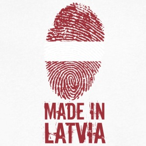 Made In Latvia - Men's V-Neck T-Shirt by Canvas