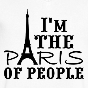 I'm the Paris of people! - Men's V-Neck T-Shirt by Canvas