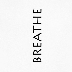 BREATHE - Men's V-Neck T-Shirt by Canvas