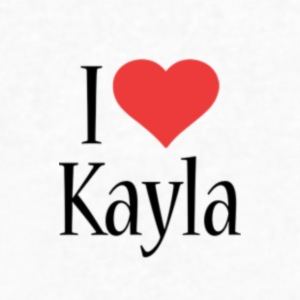 Kayla designstyle i love my shirts!! please buy! - Men's V-Neck T-Shirt by Canvas