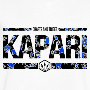 Crafts and Tribes - Kapari - Men's V-Neck T-Shirt by Canvas