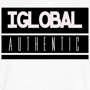 iGlobal Authentic Theme - Men's V-Neck T-Shirt by Canvas