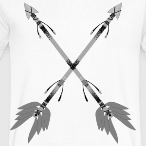 ethno arrow - Men's V-Neck T-Shirt by Canvas