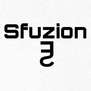 Sfuzion main logo/lettering - Men's V-Neck T-Shirt by Canvas