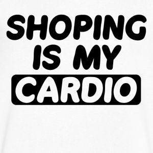 Shopping is My Cardio - Men's V-Neck T-Shirt by Canvas