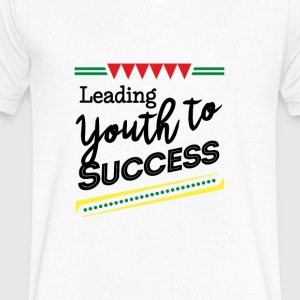 Leading Youth To Success - Men's V-Neck T-Shirt by Canvas