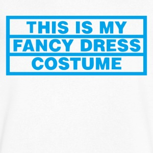 THIS IS MY FANCY DRESS COSTUME - Men's V-Neck T-Shirt by Canvas
