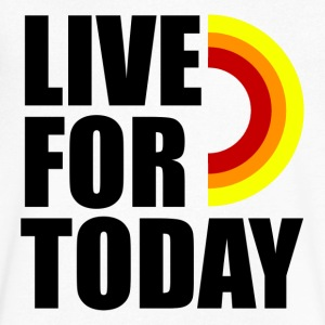 Live For Today - Men's V-Neck T-Shirt by Canvas