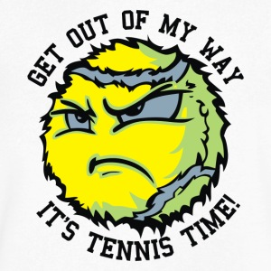 TENNIS BALLS - Men's V-Neck T-Shirt by Canvas