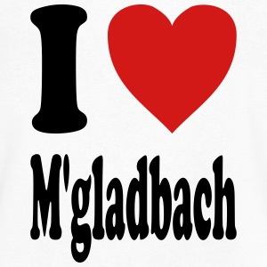 I love Moenchengladbach (variable colors!) - Men's V-Neck T-Shirt by Canvas