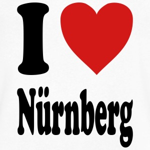 I love Nuernberg (variable colors!) - Men's V-Neck T-Shirt by Canvas