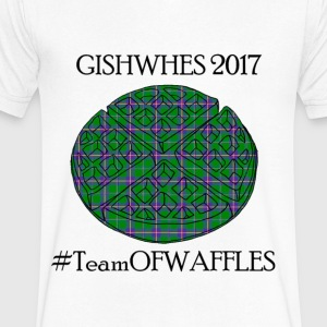 TeamOFWAFFLES 2017 - Men's V-Neck T-Shirt by Canvas