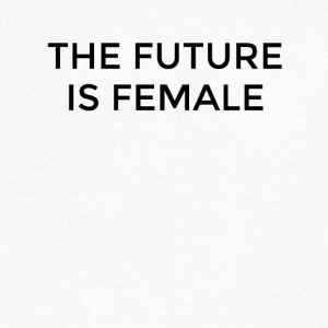 The Future is Female - Men's V-Neck T-Shirt by Canvas