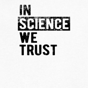 In Science We Trust - Men's V-Neck T-Shirt by Canvas