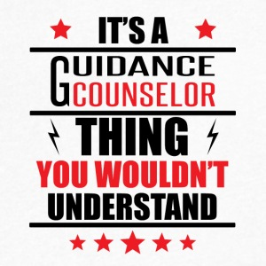 It's A Guidance Counselor Thing - Men's V-Neck T-Shirt by Canvas