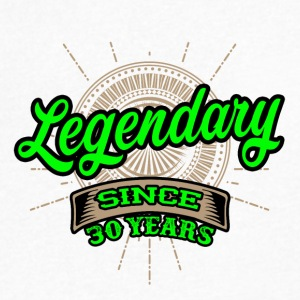 Legendary since 30 years t-shirt and hoodie - Men's V-Neck T-Shirt by Canvas