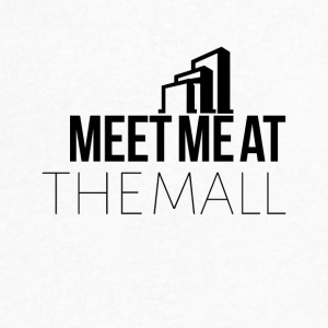 Meet me at the mall - Men's V-Neck T-Shirt by Canvas