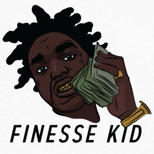 Finesse Kid - Men's V-Neck T-Shirt by Canvas