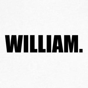 WILLIAM. - Men's V-Neck T-Shirt by Canvas