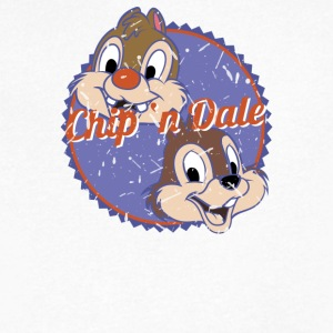 Chip'n Dale - Men's V-Neck T-Shirt by Canvas