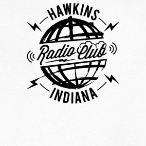 Hawkins Radio Club - Men's V-Neck T-Shirt by Canvas