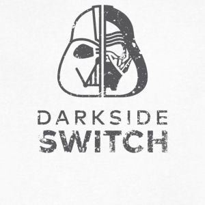 Darkside Switch - Men's V-Neck T-Shirt by Canvas