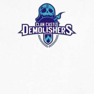 Clan Destroyers - Men's V-Neck T-Shirt by Canvas