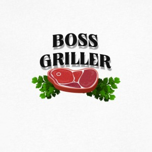 Boss Griller - Men's V-Neck T-Shirt by Canvas