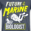 Future Marine Biologist Octopus Biology Student - Men's V-Neck T-Shirt by Canvas