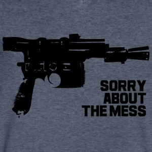 Mess - Men's V-Neck T-Shirt by Canvas